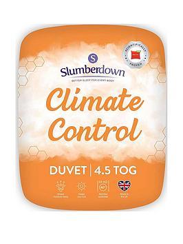 Slumberdown Climate Control 4.5 Tog Duvet  Double