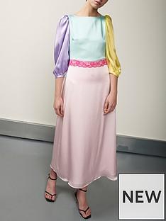 olivia-rubin-lara-colourblock-dress-multi