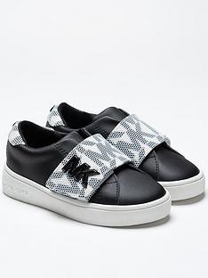michael-kors-girls-brynn-logo-strap-monochrome-trainers-black