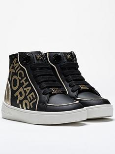 michael-kors-girls-haley-metallic-lace-up-high-top-trainers-black