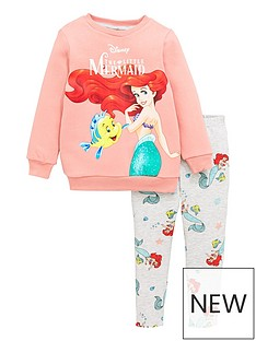disney-princess-girls-disney-ariel-2-piece-sweatshirt-and-leggings-set-pink