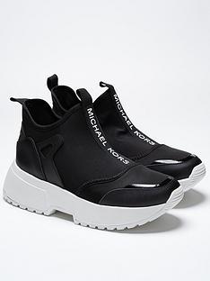 michael-kors-girls-lillie-logo-chunky-neoprene-trainers-black
