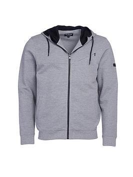 barbour-international-frame-hoodie-grey