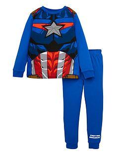 marvel-boys-marvelnbspnovelty-long-sleeve-pjs-blue