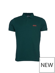 barbour-international-essential-polo-shirt-green