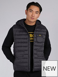 barbour-international-ousten-hooded-gilet-black
