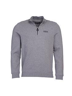 barbour-international-half-zip-logo-sweatshirt-grey