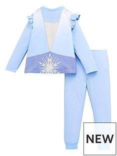 disney-frozen-girls-elsa-novelty-long-sleeve-pjs-blue