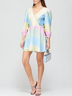 olivia-rubin-amber-pastel-stripe-sequin-mini-dress-multicolour