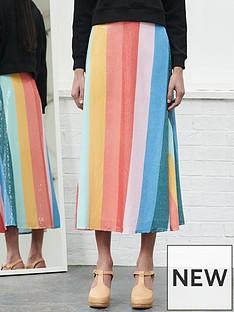 olivia-rubin-rainbow-sequin-skirt-multi