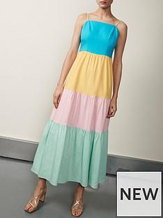 olivia-rubin-cydney-colour-block-sundress-multi