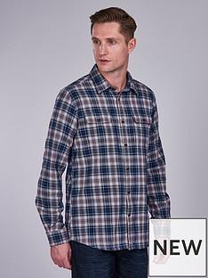 barbour-international-henri-check-shirt-navy