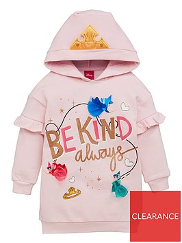 disney-princess-girlsnbspfairies-hoodie-with-crown-detail-pink