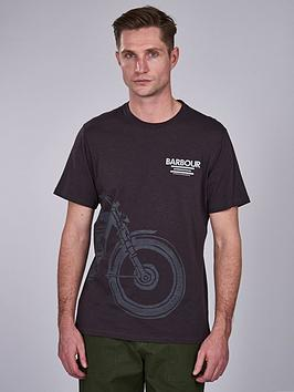 barbour-international-speed-t-shirt-black