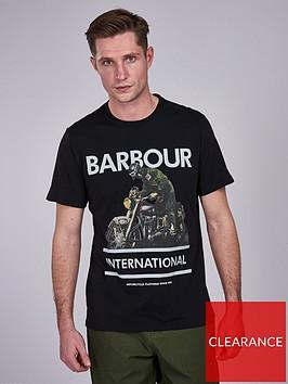 barbour-international-heritage-t-shirt-black