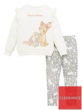 bambi-girlsnbsp2-piece-sweatshirt-and-leggings-set-beige