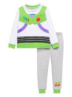 toy-story-boys-disneynbspbuzz-novelty-long-sleeve-pyjamas-multi
