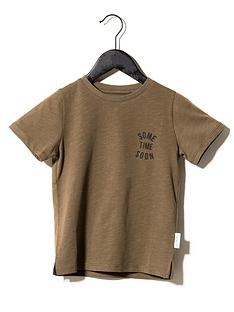 sometime-soon-boys-revolution-short-sleeve-signature-t-shirt-brown