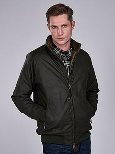 barbour-international-westway-wax-jacket-green