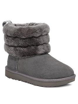 ugg-fluff-mini-quilted-boots-charcoal