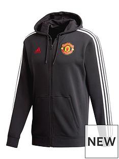 adidas-manchester-united-3-stripe-hoodie-black