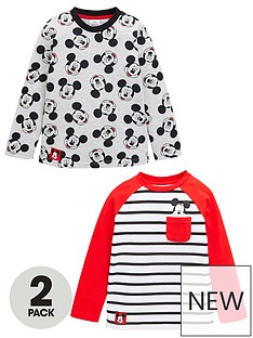 mickey-mouse-boys-disneynbsp2-pack-long-sleeve-t-shirts-multi