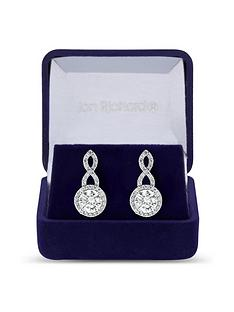 jon-richard-silver-plated-cubic-zirconia-halo-infinity-crystal-drop-earring-gift-boxed