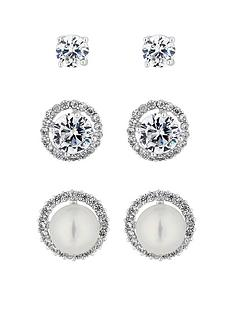 jon-richard-silver-pearl-and-crystal-stud-earrings-pack-of-3