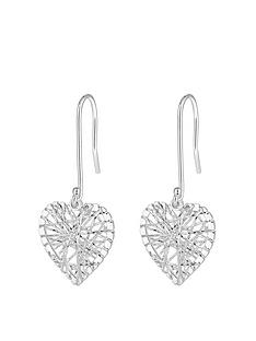 simply-silver-sterling-silver-diamond-cut-cage-heart-drop-earrings