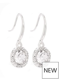 mood-silver-plated-crystal-halo-fish-hook-drop-earrings
