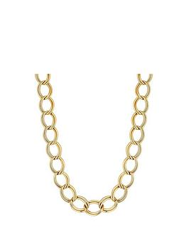 mood-gold-plated-open-link-chain-necklace