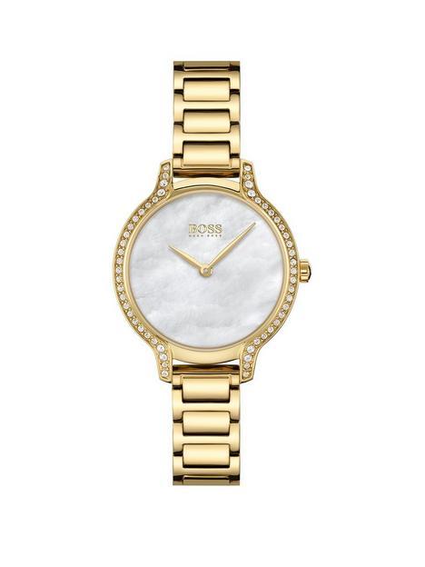 boss-boss-gala-silver-dial-gold-tone-bracelet-watch