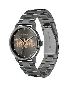 coach-coach-grand-black-dial-grey-bracelet-watch