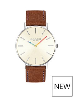coach-coach-perry-white-dial-rainbow-detail-tan-leather-strap-watch