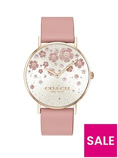 coach-coach-perry-silver-dial-floral-detail-pink-leather-strap-watch