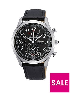 seiko-seiko-black-and-silver-detail-chronograph-dial-black-leather-strap-mens-watch