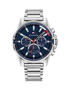 tommy-hilfiger-tommy-hilfiger-blue-chronograph-dial-stainles-steel-braclet-watch