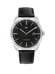 tommy-hilfiger-tommy-hilifger-theo-black-dial-black-leather-strap-watch