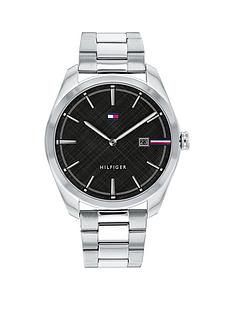 tommy-hilfiger-tommy-hilifger-black-dial-stainless-steel-bracelet-watch