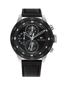 tommy-hilfiger-tommy-hilfiger-black-multi-dial-black-leather-strap-watch