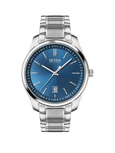 boss-boss-circuit-blue-date-dial-stainless-steel-bracelet-watch