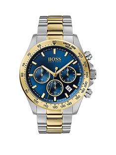 boss-hero-sport-blue-chronograph-dial-two-tone-stainless-steel-braceletnbspmens-watch
