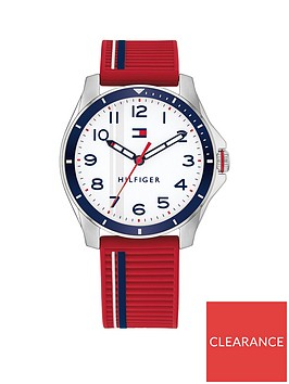 tommy-hilfiger-kids-red-strap-watch