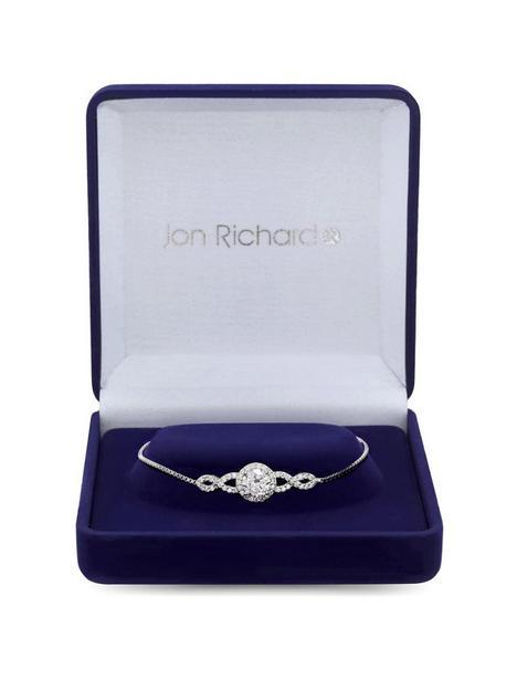 jon-richard-silver-plated-cubic-zirconia-halo-infinity-crystal-toggle-bracelet-gift-boxed