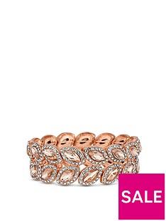 mood-rose-gold-plated-crystal-leaf-stretch-bracelet