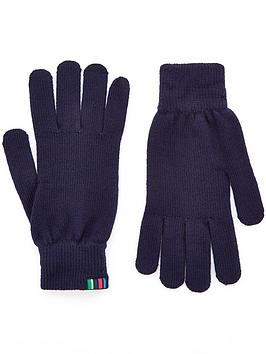ps-paul-smith-menrsquos-knitted-gloves--nbspnavy