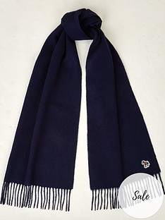 ps-paul-smith-mensnbspzebra-logo-knitted-scarf--nbspnavy