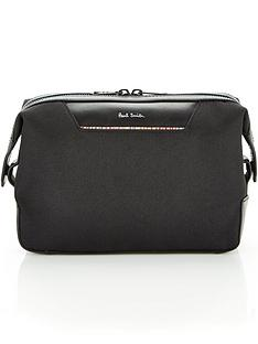 ps-paul-smith-menrsquos-canvas-logo-washbag-blacknbsp