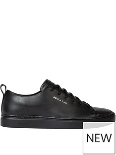 ps-paul-smith-menrsquos-lee-leather-trainers-black
