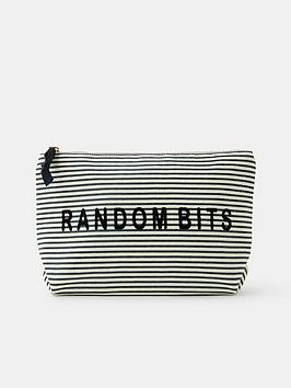 accessorize-random-bits-wash-bag-navy